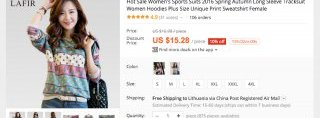 AliExpress screenshot